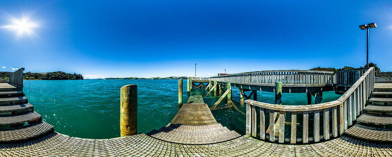 Wharf at Orapiu Bay