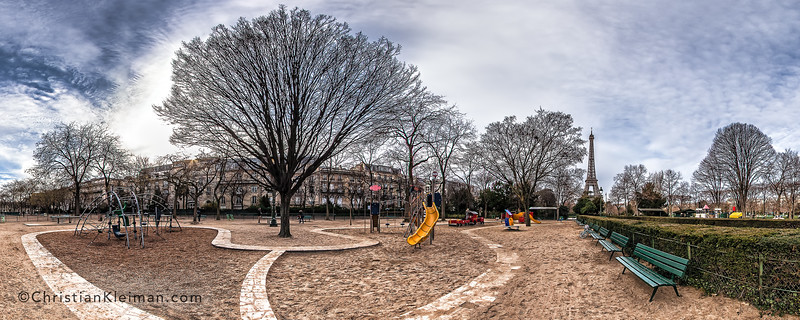Kids Playground – (Av. Charles Risler – Allée Thomy-Thierry)