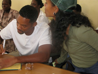 Visit of Will Smith - US Actor