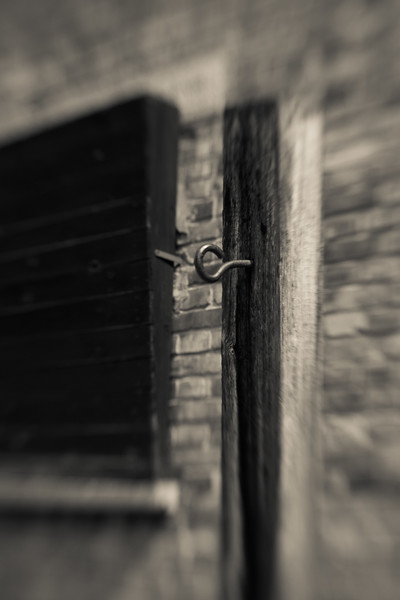 Prisoners could be punished for literally anything. Some were hung to a special stake, their arms shackled behind their backs to a hook.