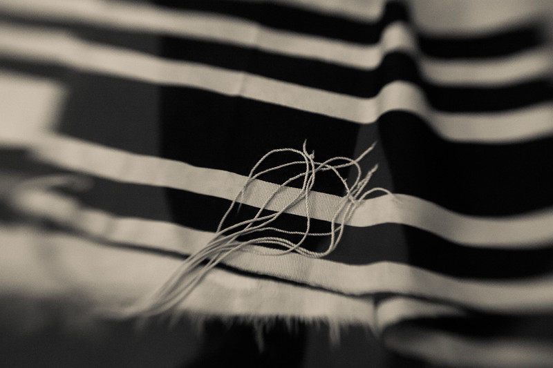 They came with their striped prayer shawls, hoping to cling to some connection with normalcy.