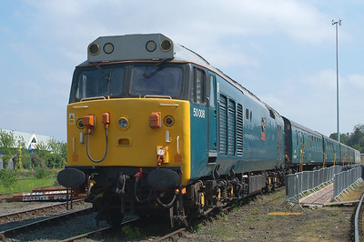 50008. This DCR  favourite was the loco that went and retrieved 56301 for us.
