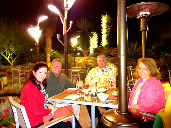 Visit with Cousins James and Jann Stewart at Desert Botanical Gardens, Phoenix AZ December 7, 2016