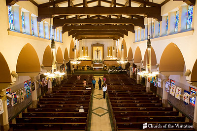 2018 Church of the Visitation's Communion.  Visitationchurch-la.com.  ©VenicePaparazzi  HireVP.com