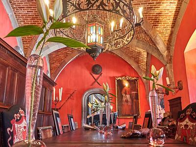 Visite de Chimay: le château