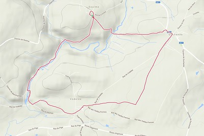 Petie randonnée à Soulme - 8,5 KM - 02H05  - Alt 141m-229m