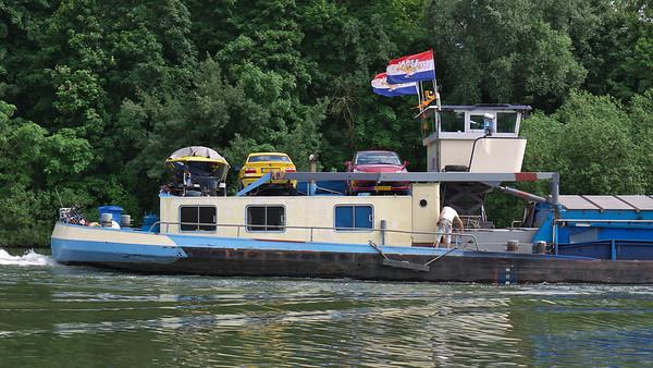 La Meuse à Bas-Oha (Wanze, Belgique) - Juin 2012