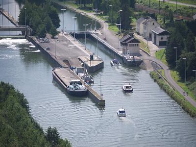 La Meuse à Houx (Yvoir, Belgique)