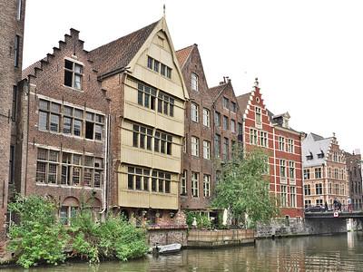 Gent - Tussen Grasbrug en de Rekelingestraat