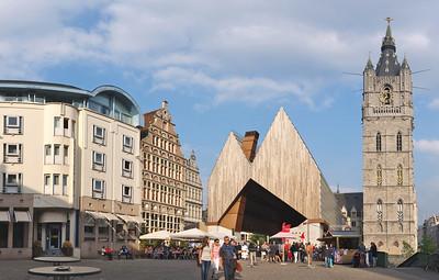 Gent - Stadshal en Belfort - Halle et Beffroi