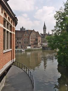 Gent - Oude vismarkt - Ancien marché au poisson