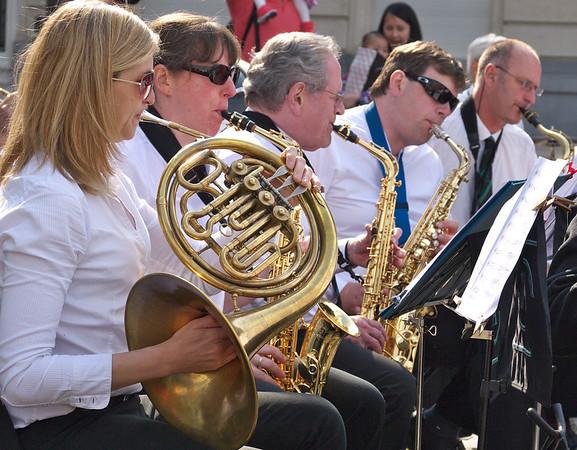 Gent - Korenlei - Orchestre en représentation, vendredi 30 mail 2014