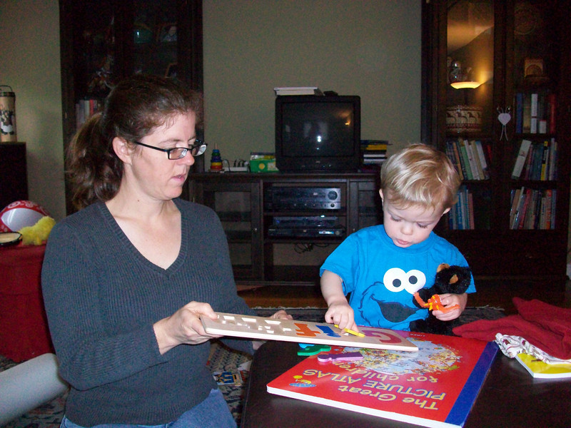 12/2009 More presents Griffin puzzle