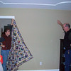Trying to get a picture of the Stash Quilt
