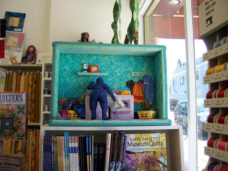 06/06 Visiting Oakland - New Pieces quilt shop