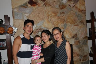 Visiting Fam - Sept 2013