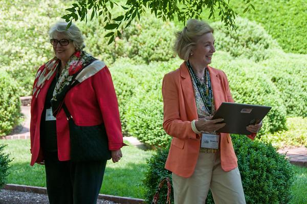 Visiting Gardens Guests May 2014