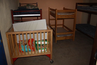 Los Gozosos converted a class room in order to take more kids.  There are plans to put a second story so they can further expand the ministry.  They just recently lost their industrial strength blender in the kitchen.  Heavily dependent on it as the must puree so much of the kids food.   ORI and Vine are working on it.