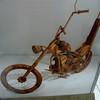 a bike sculpture