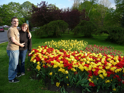 2011-05-07 visiting Albany NY Tulip Festival with Chris and Mary