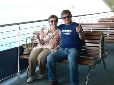 2011-08-31 Vlado and Ula take Angela to visit Konstanz
