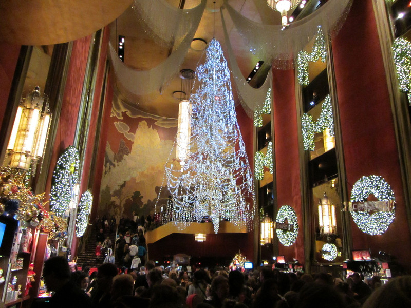 Radio City Music Hall lobby