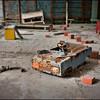 School inside the thirty kilometer evacuation zone around the Chernobyl nuclear plant, Ukraine.