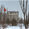 The abandoned Hotel Polissia, inside the 30-kilometer Chernobyl Exclusion Zone, Pripyat, Ukraine.