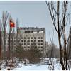 The abandoned Hotel Polissia, inside the 30-kilometer Chernobyl Exclusion Zone, Pripyat, Ukraine.