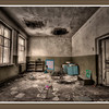 Kindergarten inside the 30-kilometer Chernobyl Exclusion Zone, near Chernobyl, Ukraine.