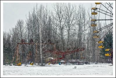 The amusement park at Pripyat, Ukraine, inside the 30-kilometer Chernobyl Exclusion Zone.