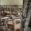 School inside the 30-kilometer Chernobyl Exclusion Zone, Pripyat, Ukraine.