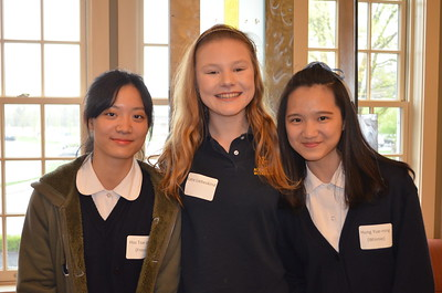 Visitors from the Sacred Heart High School for Girls-Taipei, Taiwan