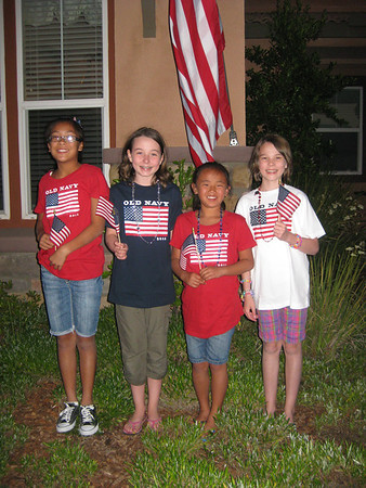 Bob, Donelly, and Girls Visit July 2011