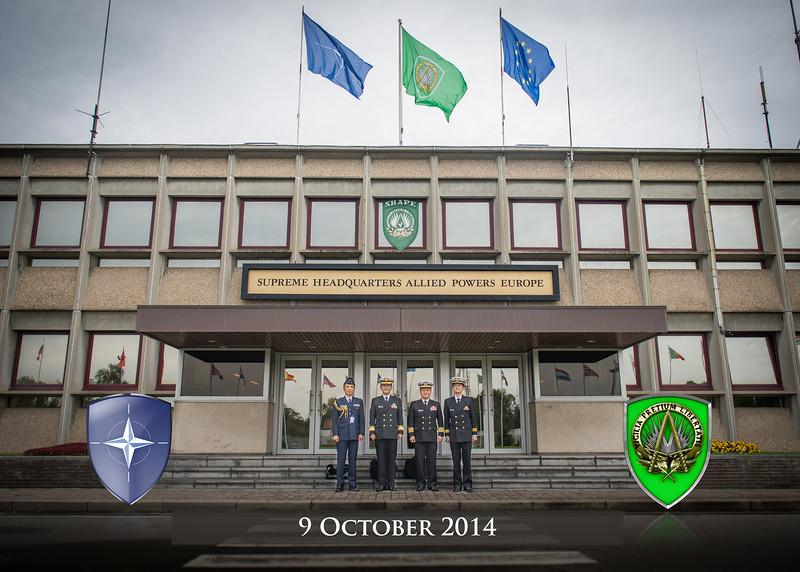 Japanese Partnership visit to SHAPE ( NATO photo by Sgt. Emily Langer/ Deu-Army)