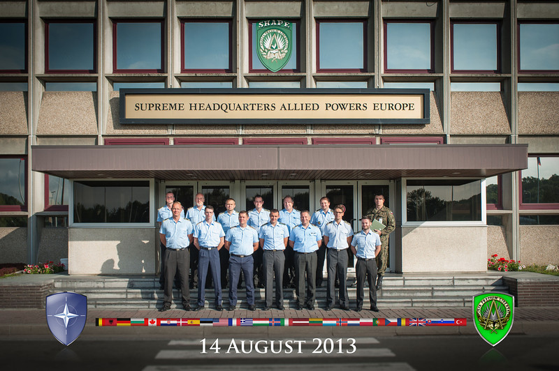 130814 - Outreach group - Officers from German Army (NATO photo/ Sgt. Emily Langer.DEU Army)