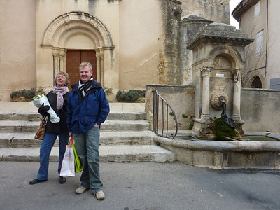 Sheryl and Neil Pulbrook, Lourmarin