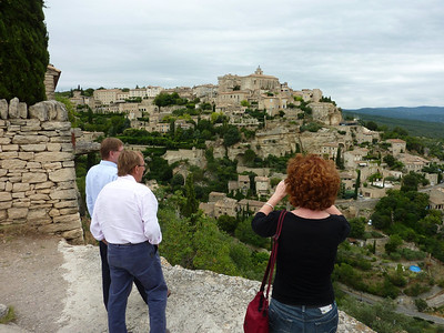 Alan, Michael and Tracey, Gordes