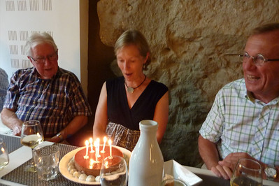 Happy Birthday Christine! Le Fournil, Bonnieux