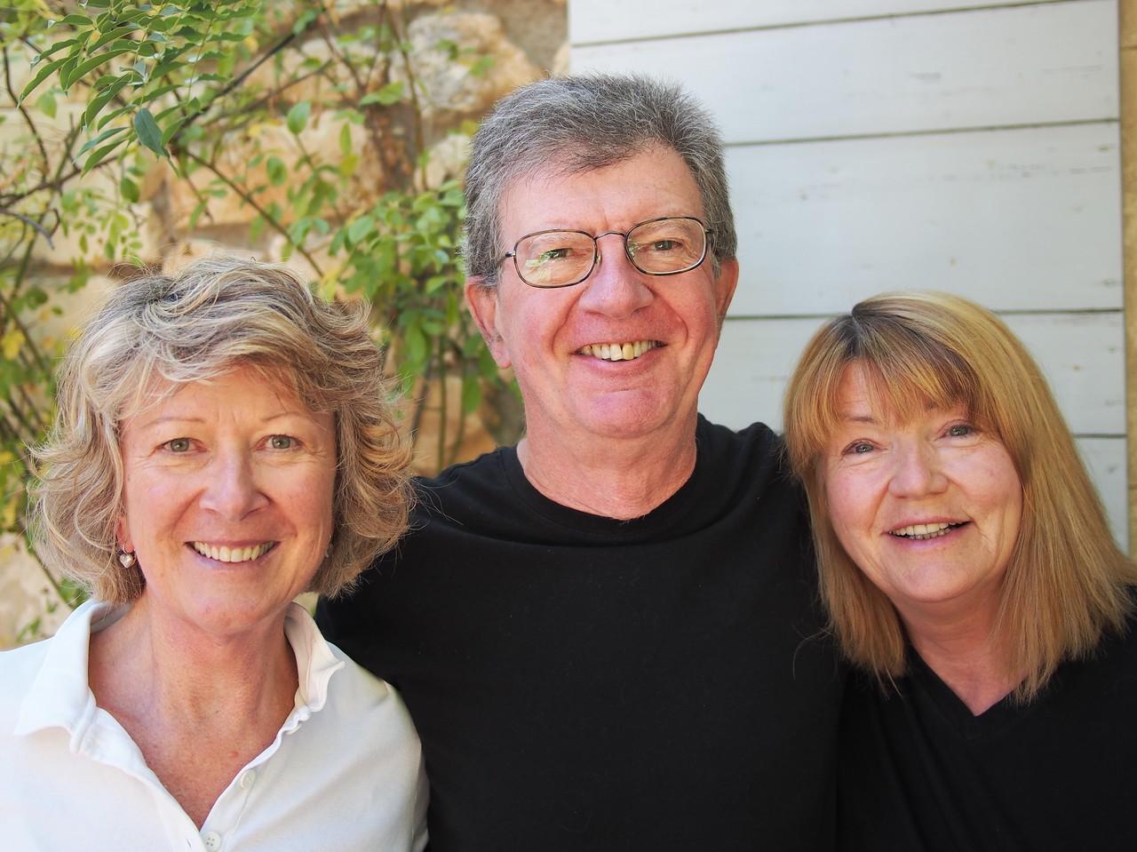 Sheryl, Chris and Gayl