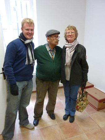 Neil and Sheryl with museum curator, Cucuron