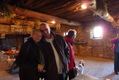 Judy and Peter, Ferme-Auberge le Castelas, Sivergues