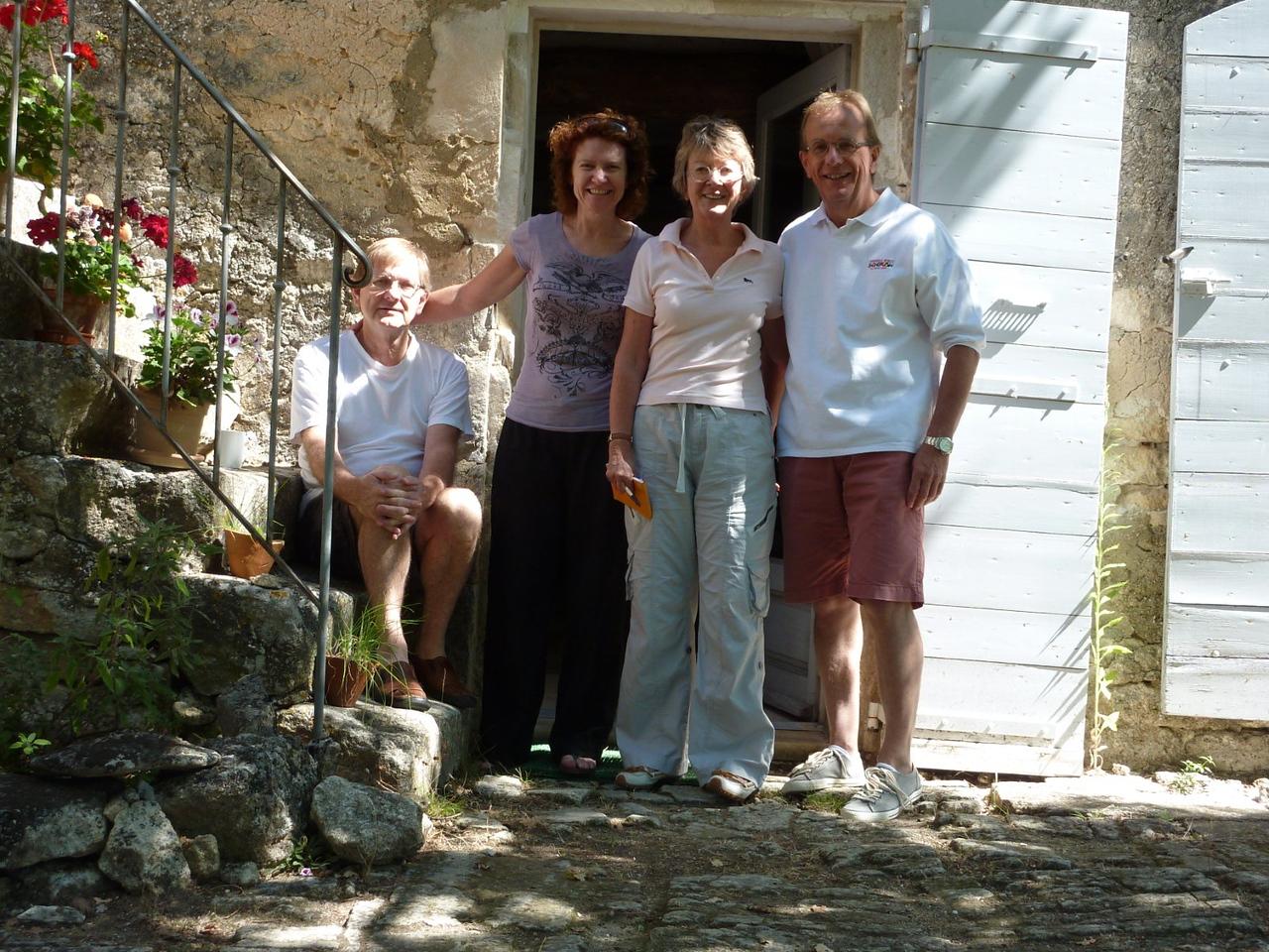 Alan, Tracey, Sheryl and Michael