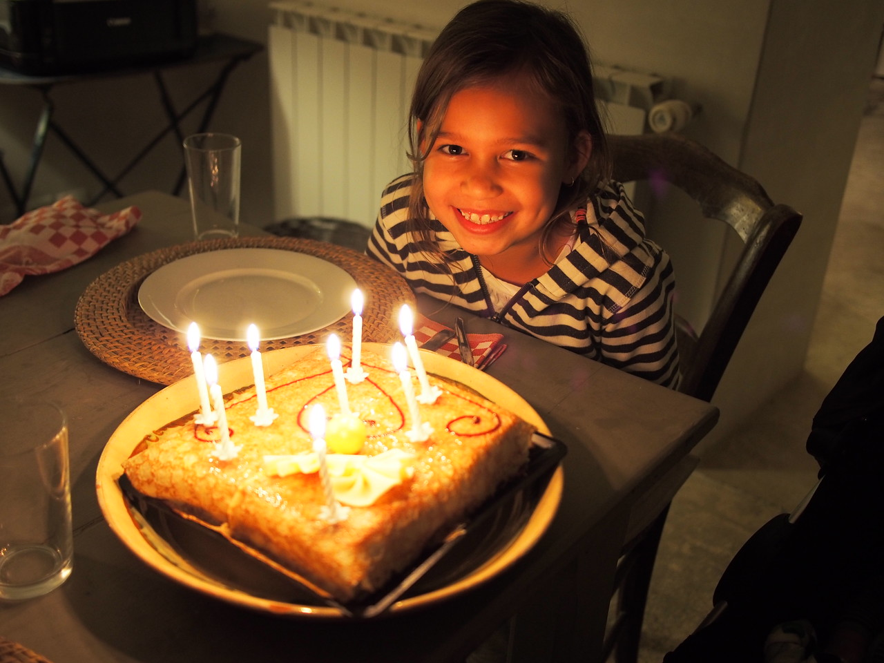 Lela 8th birthday, Lacoste