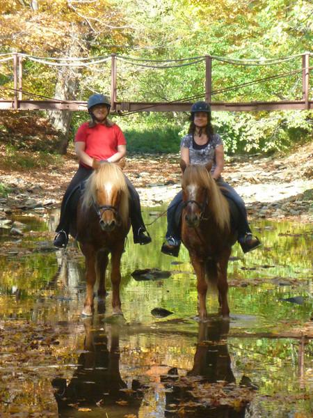 Andrea and Vikingur - Cherrie and Kraftur in Sugar Creek
