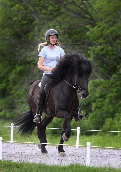 Carrie and Pegasus frá Skyggni