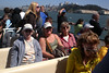 Lynn, Kathy, Sharon & Don on the Blue & Gold Fleet's special Alcatraz Adventure Tour of the San Francisco Bay