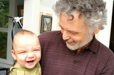 Tristan's grandparents visit - September '08