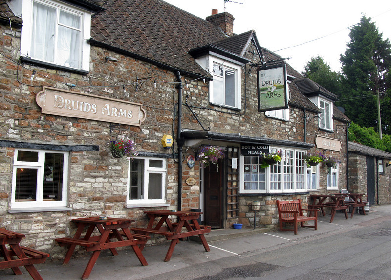 The Druids Arms in Stanton Drew