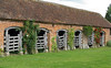 Beautiful old cattle pens